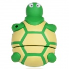 Cute Cartoon Tortoise Style USB 2.0 Flash Drive - Green + Light Yellow (16GB)