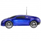 Go Voc CAR V-36 Car Model Style Media Player Speaker w/ FM / TF for IPHONE 4 / 4S - Blue + Black