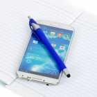 S-What Multifunction Cellphone Touch Stylus / Ballpoint Pen w/ Clip - Blue