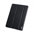 Remax Protective PU Leather + PC Case w/ Stand for Samsung Galaxy Tab Pro 10.1 T520 - Black