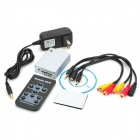 HOM-DVR01V 1-Channel HD Mini 1A 12W Digital Video Recorder w/ SD - Silver (DC 12V)