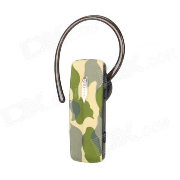 ROMAN R520 Bluetooth V3.0 Stereo Headset med mikrofon - Camouflage Green