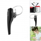GENAI GN-Blue5 Stylish Voice-Controlled Bluetooth V4.0 + EDR Stereo Headset for IPHONE - Black