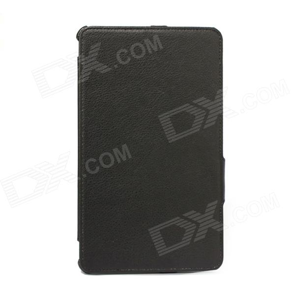 SJ-HS003 Protective PU Leather Case w/ Holder for Samsung Tab3 Pro8.4 T320 T325 - Black форма для выпечки rondell rdf 441 mocco