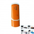 USB2.0 Bluetooth Wireless Music Audio Receiver for Car Computer / Speaker - White + Orange