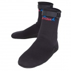 BlueOcean 123 Outdoor Swim Submersible Neoprene Sock - Black (Size L)