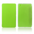 ENKAY Protective PU Leather Case w/ Stand for Samsung Galaxy Tab Pro 8.4 T320 / T321 - Green