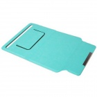 "PU cuir Case Stand w / support ventouse Silicone / Magnetic Closure pour 7 ""Tablet PC - bleu"