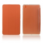 ENKAY Protective PU Leather Case w/ Stand for Samsung Galaxy Tab Pro 8.4 T320 / T321 - Orange
