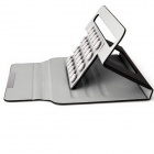 "PU cuir Case Stand w / support ventouse Silicone / Magnetic Closure pour 7 ""tablette PC - noir"