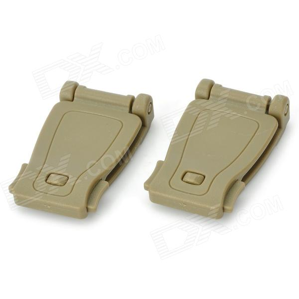 Outdoor Backpack Belt Connection Buckle (2 PCS)