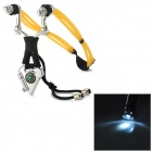 Sporting Zinc Alloy Slingshot w/ Compass / Flashlight