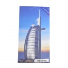 HH-34 Burj Al Arab Hotel Style Striae Protective Screen Protector Film for Samsung Galaxy S3 - Blue