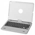 K553 360 Degree Rotatable Cover Bluetooth v3.0 64-Key Keyboard for IPAD AIR - Silver
