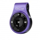 QCY 320C Fashionable Bluetooth V2.1 + EDR Stereo Clip-On Headset for IPHONE / Samsung - Purple