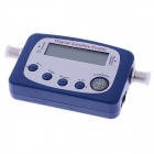 SF-9505 a Digital Satellite Finder / Signal récepteur w / Compass - bleu