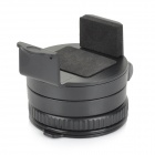 360 Degree Mini Round Car Mount Holder for IPHONE / IPOD + More - Black
