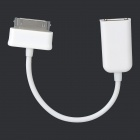 USB 2.0 OTG-adapterkabel til Samsung Tablet PC - Hvit (15cm)