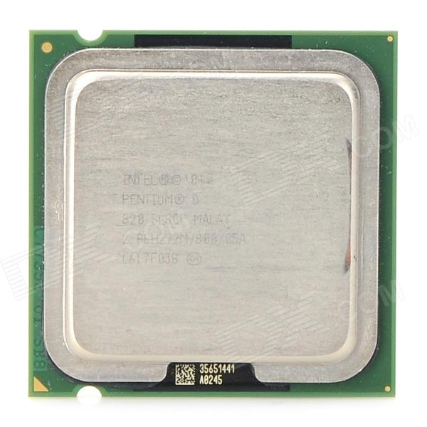Intel Pentium PD820 LGA 775 2,8 GHz tokjerners 95-watts CPU - grønn
