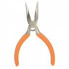 Jakemy JM-CT2-1 American Telecommunications Needle-Nose Pliers - Orange + Silver