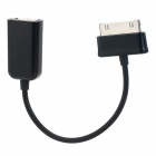 USB 2.0 OTG Adapter Cable for Samsung Tablet PC - Black (15cm)