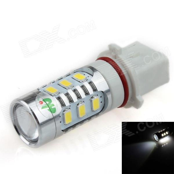 HJ-014 P13W 16W 800lm 12-SMD 5630 + 2-LED White Light Car Foglight / Headlamp (12~24V) highlight h3 12w 600lm 4 smd 7060 led white light car headlamp foglight dc 12v
