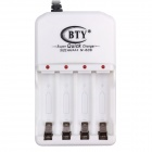 BTY N-606 Super Quick Charger for Battery AA/AAA - White (EU Plug)