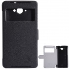 NILLKIN Protective PU Leather + PC Case Cover for Lenovo S930 - Black