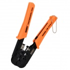 jakemy JM-CT4-1 6P 8P Network Cable Telephone Line Crimping Plier - Orange + Black