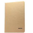 KALAIDENG Protective PU Leather Case w/ Stand for IPAD AIR - Golden