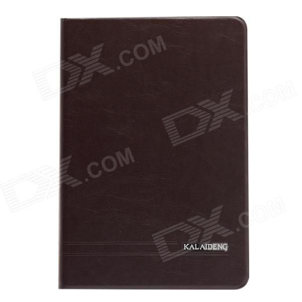 KALAIDENG Protective PU Leather Case w/ Stand for IPAD MINI - Dark Grey
