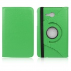 ENKAY 360 Degree Rotation Protective Case Cover Stand for Samsung Galaxy Tab 3 Lite T110 - Green