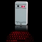 Bluetooth Laser Projection Keybord (for Mobile phone, IPAD, Windows Computer ) - White
