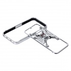 GeekRover iPSC0801-C 3D Skull Style Bumper Frame Case for IPHONE 5 / 5S - Silver