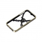 GeekRover iPCS0802-B 3D Skull Head Style Bumper Frame Case for IPHONE 5 / 5S - Bronze