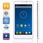 "KICCY NOTE 3 MTK6582 Quad-Core Android 4.2 WCDMA Bar Phone w/ 5.5"" IPS , Wi-Fi, GPS, ROM 4GB - White"