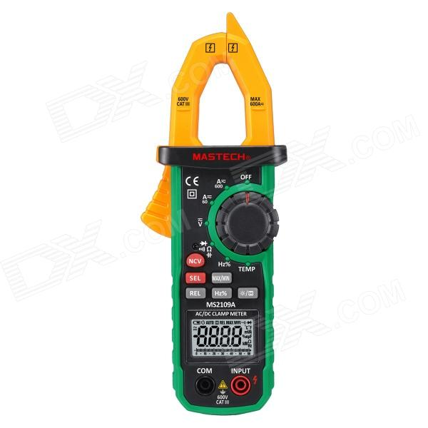 MASTECH MS2109A Non-Contact Range Digital Multimeter Detector - Black + Green acosun md916 lcd display data hold digital paper moisture meter