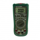 MASTECH MS8260A Digital Multimeter Voltage Current Microampere Tester - Black + Army Green