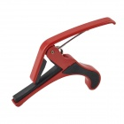 DEDO MA-9 Metal Clip-on Quick Release Capo for Ukulele - Red