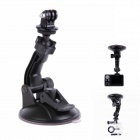H027 360 Degree Rotation Super Powerful Car Suction Cup Mount for Gopro Hero 4/ 3+ / 3 / 2 / 1 - Black