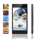 "PORTWORLD V50 Quad Core Android 4.2 WCDMA Smart Phone w/5.0"" IPS, Wi-Fi, Bluetooth and GPS - Black"