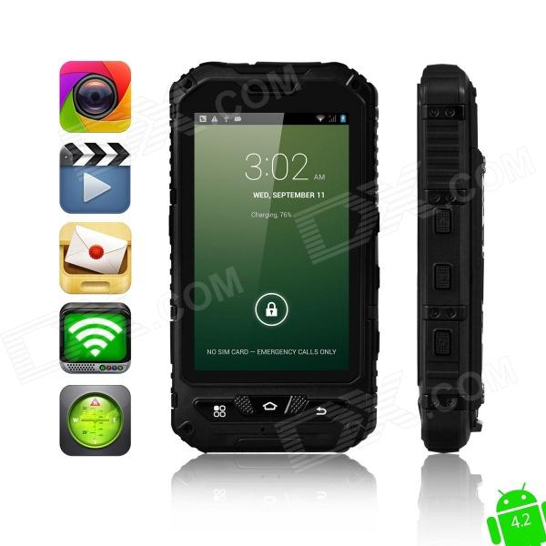 MOXIV Ultra-Rugged Waterproof Android 4.2 WCDMA 3G Smart Phone w/ 4.0
