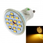 LUO DB04 GU10 8W 600lm 3000K 16-SMD 5630 LED Warm White Light Spotlight (85~265V)
