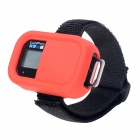 Elastic Wrist Belt Silicone Protective Case for GoPro Hero3+/3 Wi-Fi Remote Control - Red