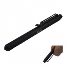 LAIX EDC Aviation Aluminum Outdoor Self-Defense Tactical Black Ink Pen - Black