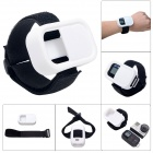 Fat Cat Elastic Wrist Belt Silicone Protective Case for GoPro Hero3+/3 Wi-Fi Remote Control - White