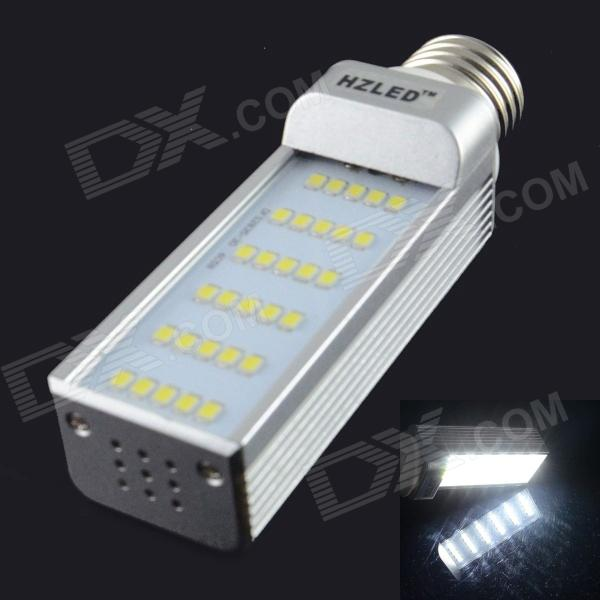 HZLED E27 6W 750lm 6000K 30-SMD 2835 LED White Light Bulb (AC 85~265V) e27 9w 760lm 6000k 30 smd 2835 led white light bulb ac 85 265v