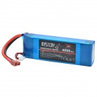 Mystery Carbon Fiber4-pin11.1V 4000mAh 35C Replacement Li-Poly Battery for RC Helicopter / Boat