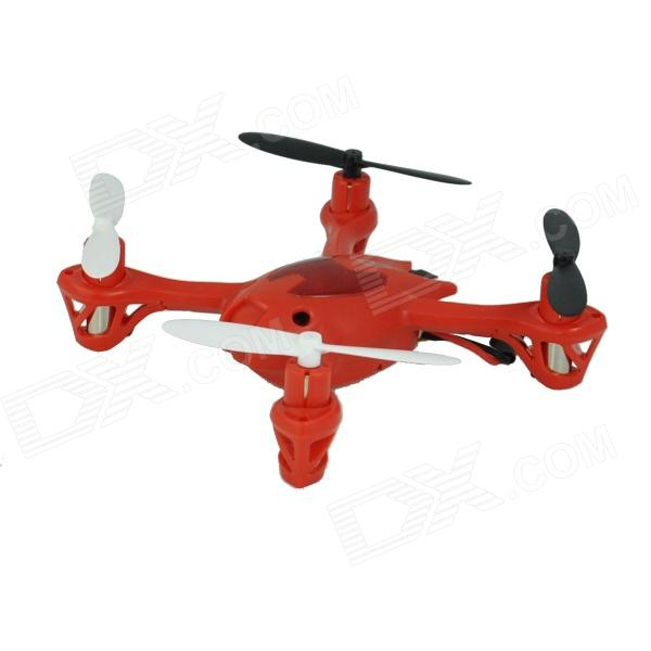 Brilink BH06 Mini 2.4G Radio Control 4-CH Quadcopter R/C Aircraft 3D Tumbling w/ 6-Axis Gyro - Red