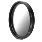 BRODA 52mm Circular Gradual Gray Filter Lens - Black